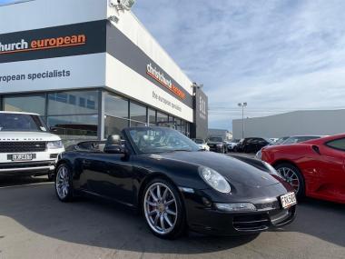 2006 Porsche 911 997 Carrera S 6 Speed Man Cabriol