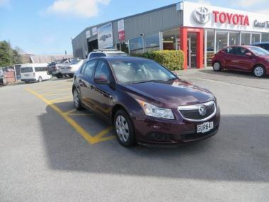 2013 Holden Cruze CD HB 1.8 AT