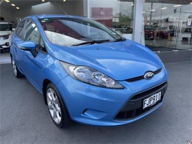 2010 Ford Fiesta 1.4L PETROL AUTO NZ NEW LWO KM