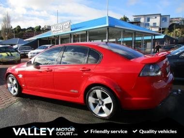 2009 HOLDEN COMMODORE SS-V SEDAN AUTO