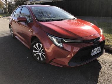 2019 Toyota Corolla SX Hybrid 1.8L Petrol Auto 5-D