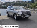 2017 Toyota Land Cruiser 200 VX Leather in Otago