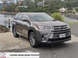 2018 Toyota Highlander GXL 3.5P 8AT AWD SUV/5D/7S  in Otago