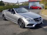 2015 MercedesBenz E 400 Cabrio AMG-Line in Otago