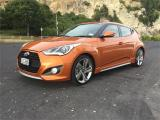 2013 Hyundai Veloster 1.6 Turbo Elite 6 Speed Manu in Otago