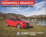 2018 Holden Astra LTZ Sedan 1.4 L Auto in Otago