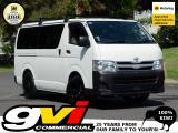 2013 Toyota Hiace Diesel * AW's / Racks / Tints *