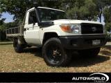2009 Toyota Land Cruiser 4.5TD 4WD C/C 5M in Canterbury