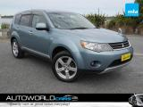 2005 MITSUBISHI OUTLANDER 2.4L 4WD G-spec 7 SEATER in Southland