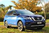 2017 Nissan Pathfinder TI 3.5L V6 Petrol Auto 7 Se in Canterbury