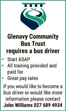 Bus Driver in Otago
