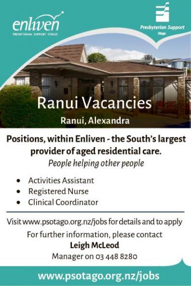 Ranui Vacancies