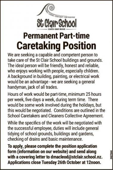 Caretaking Position