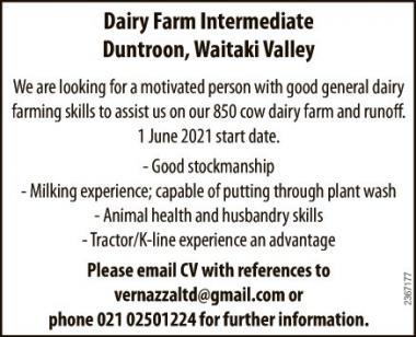 Dairy Farm Intermediate