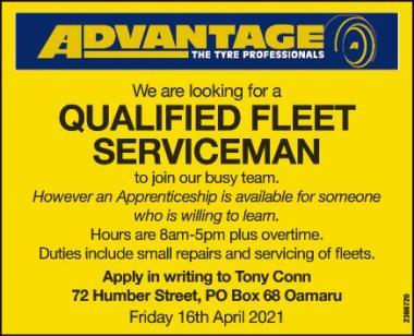 QUALIFIED FLEET SERVICEMAN