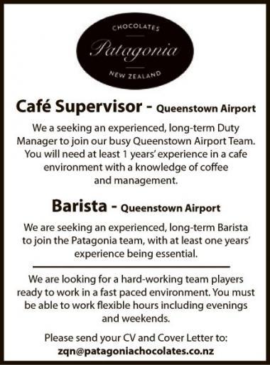 Café Supervisor - Mountain Scene