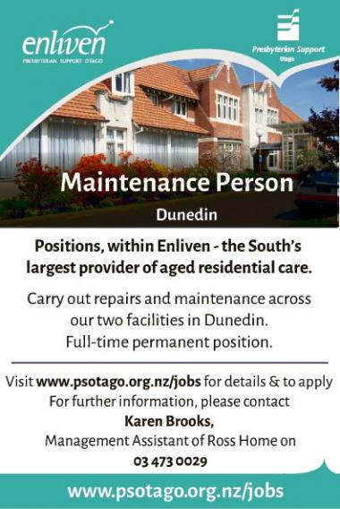 Maintenance Person