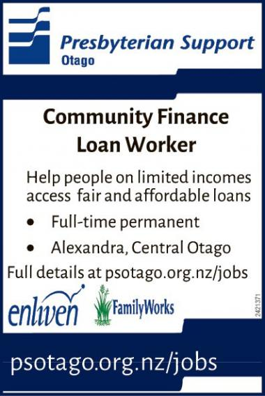 Community Finance Loan Worker