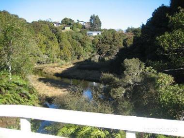Hillside Setting Beside Tranquil Mill Creek